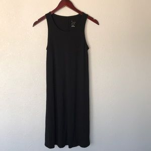 A new day black tank top dress stretchy cotton